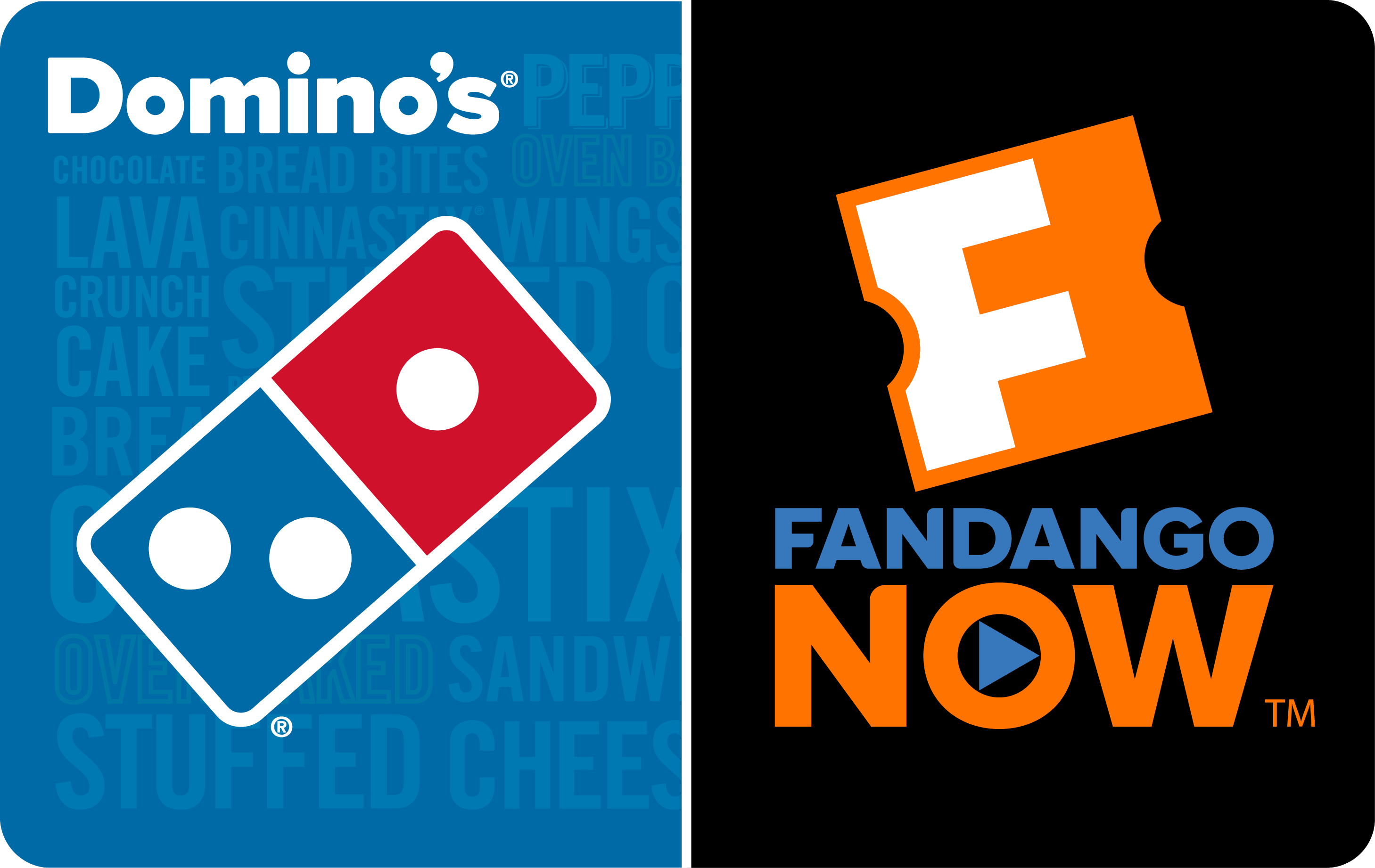Value! Buy a $25 Domino's Gift Card Get a FandangoNOW Movie Code* on us.