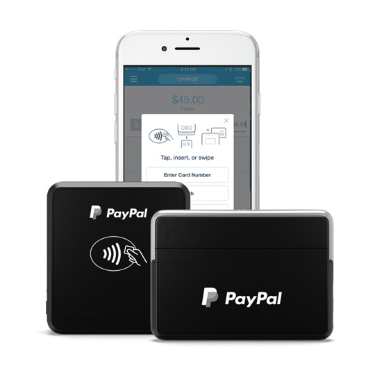 PayPal Here Chip And Swipe Reader Bluetooth
