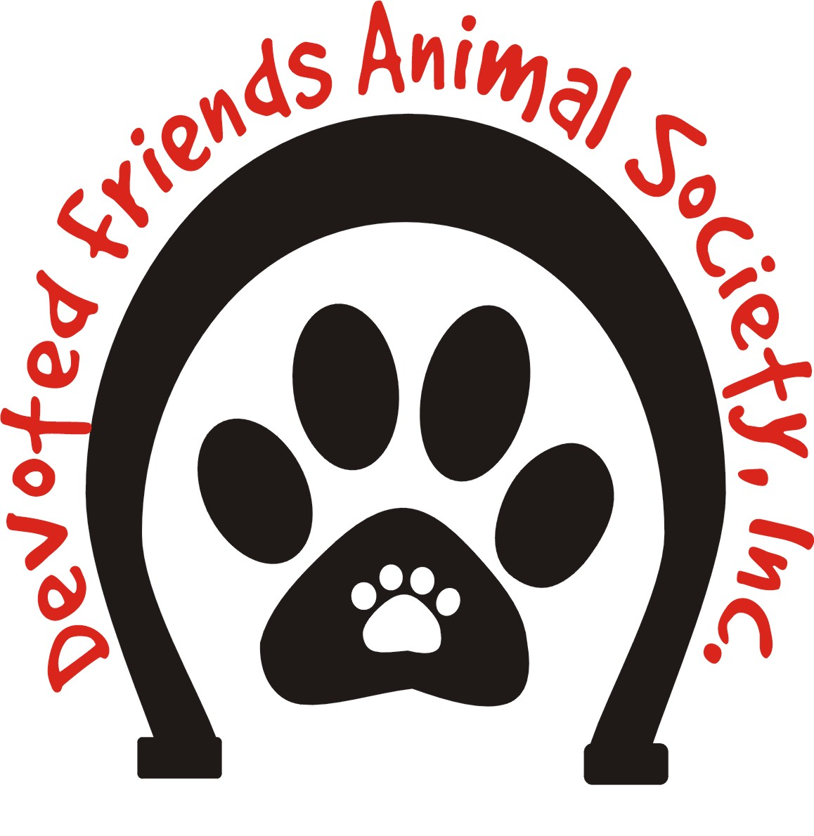 Logo of charity Devoted Friends Animal Society, Inc.