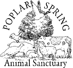 Logo of charity Poplar Spring Animal Sanctuary