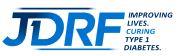 Logo of charity JDRF