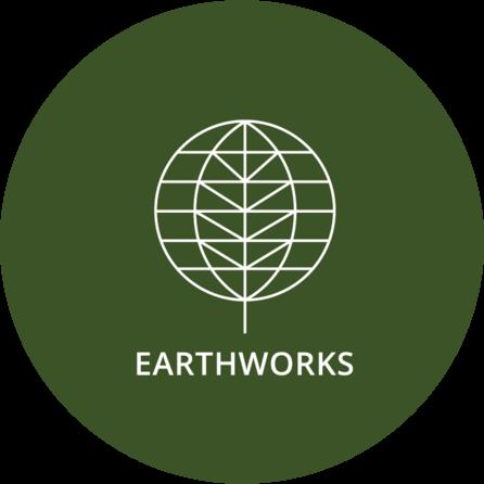 Logo of charity EARTHWORKS