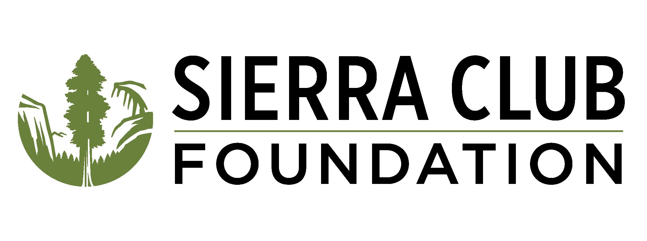 The Sierra Club Foundation logo