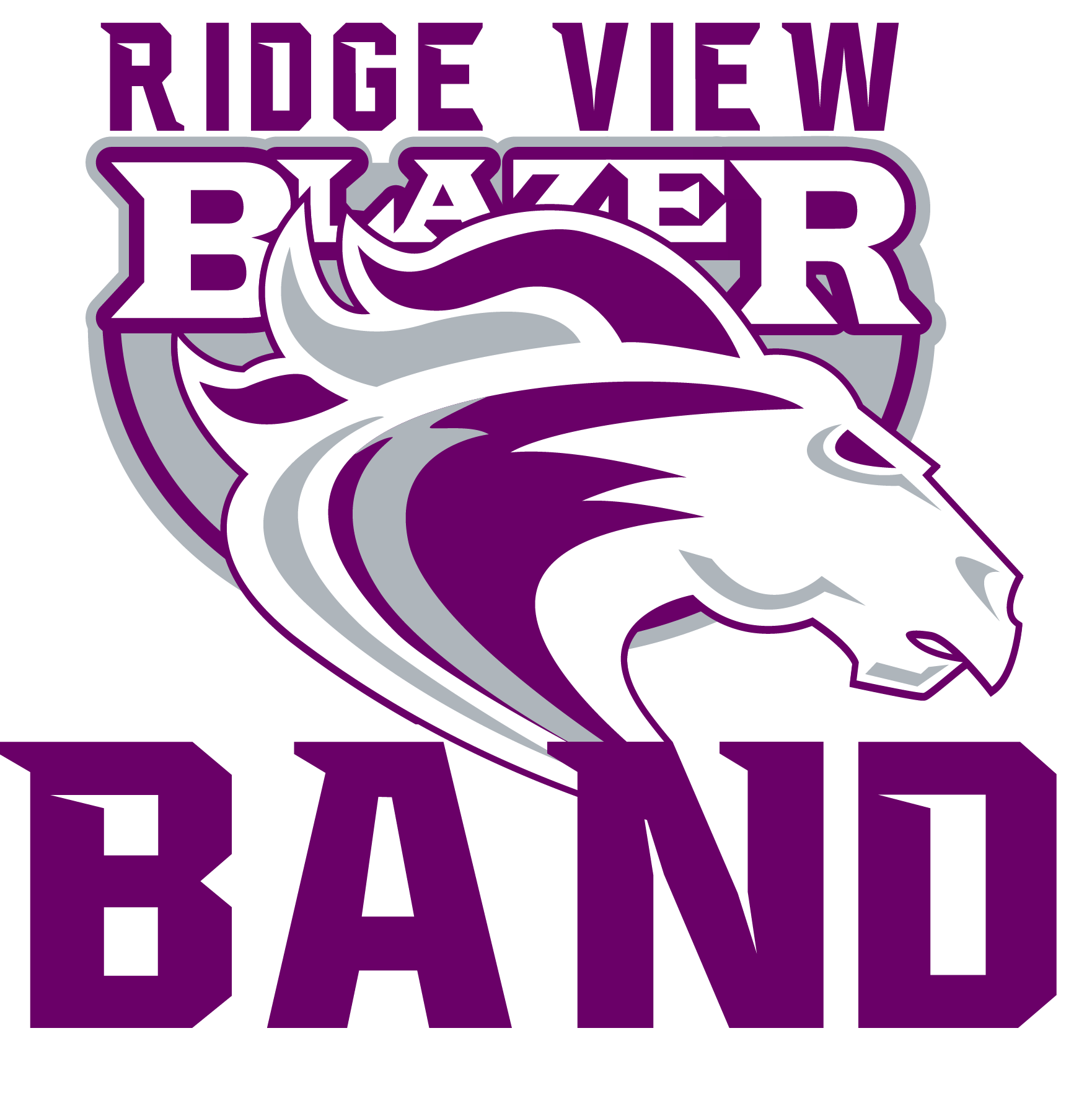 Ridge View High School Band Parent Organization logo