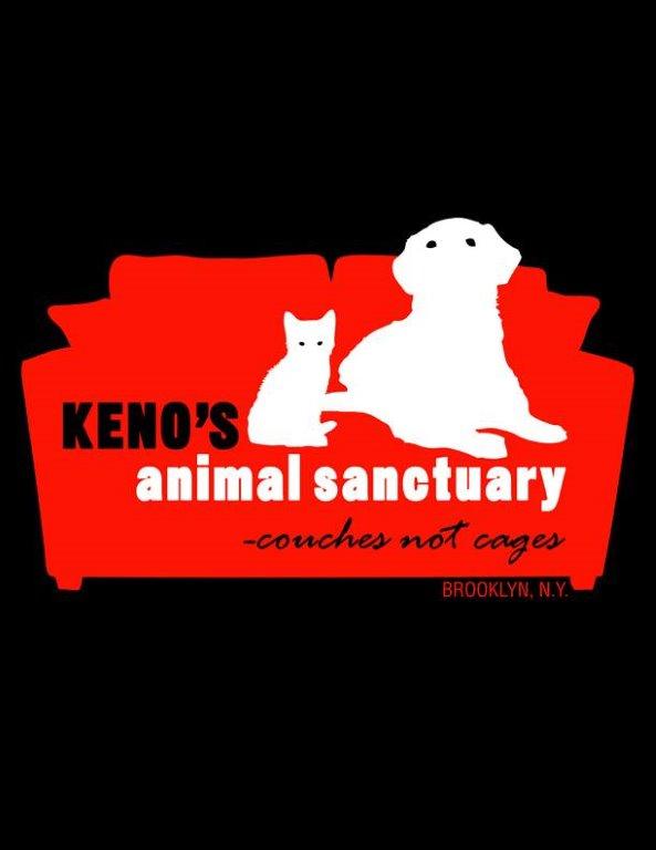 Logo of charity Keno's Animal Sanctuary