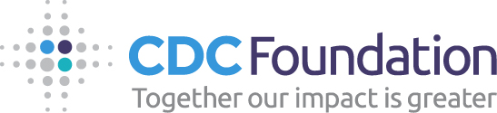 Logo of charity CDC Foundation (National Foundation for the CDC)