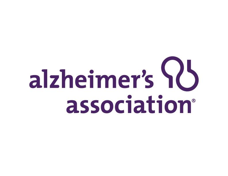 Logo of charity Alzheimer's Association