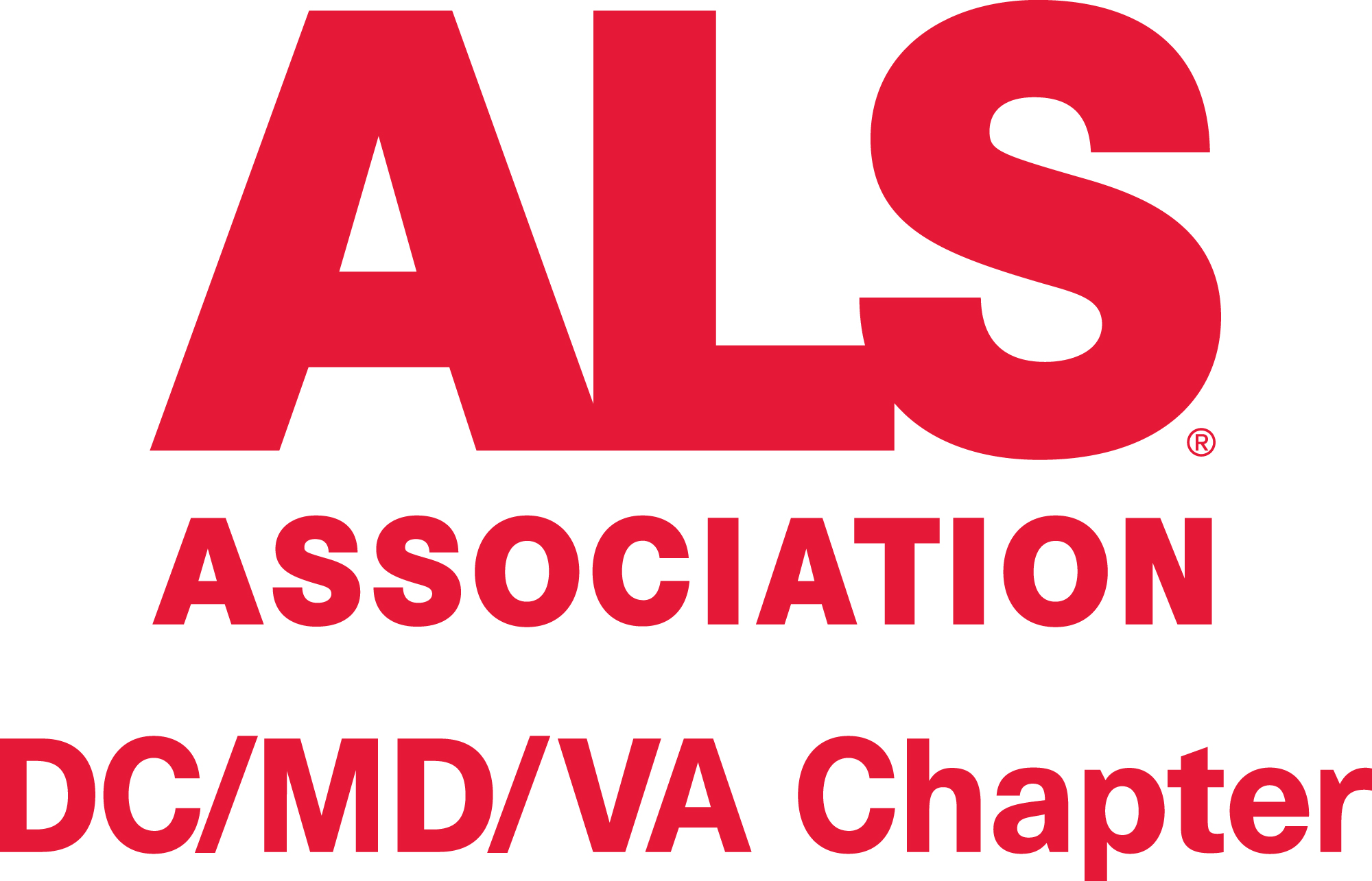 Logo of charity The ALS Association - DC/MD/VA Chapter