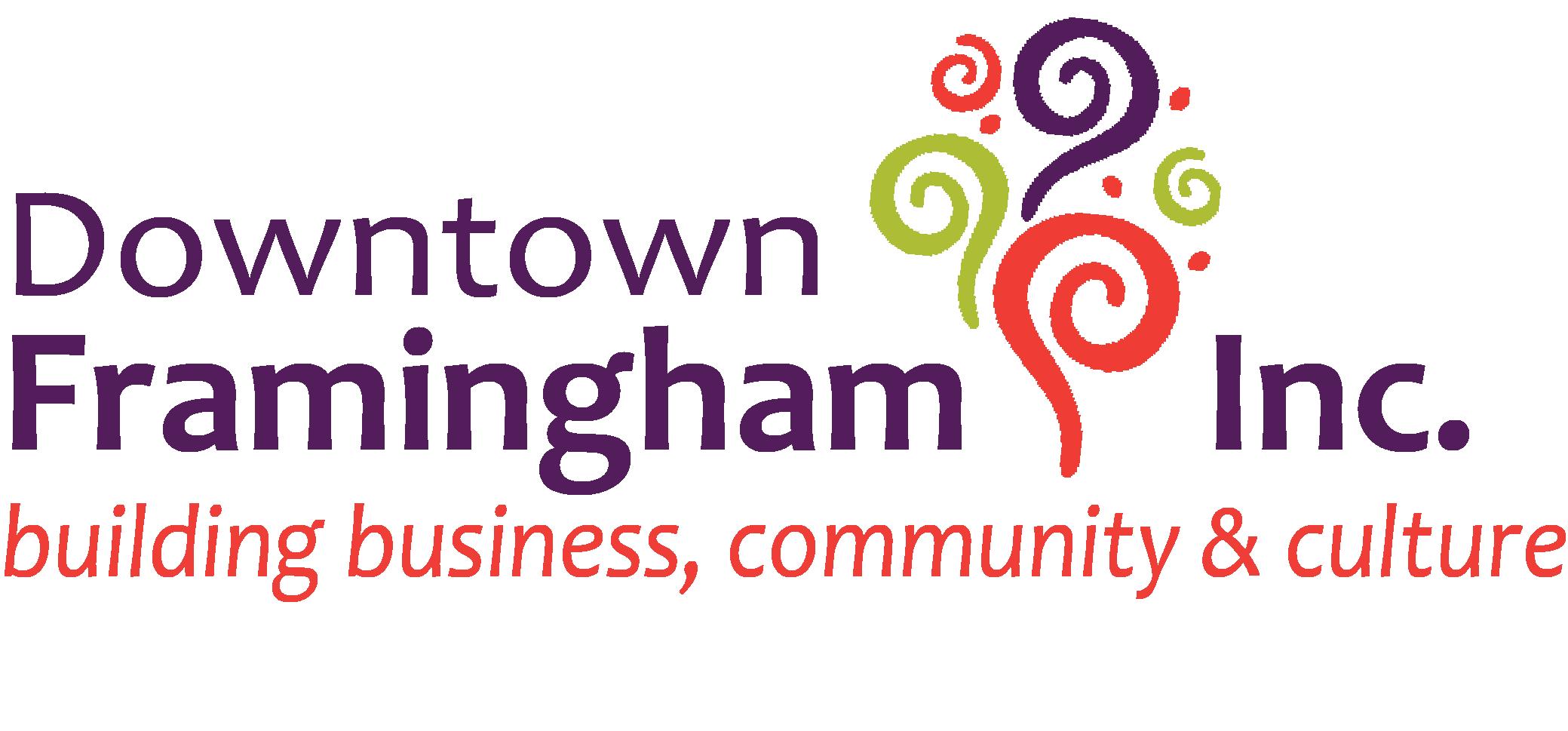 Logo of charity dba Downtown Framingham, Inc.