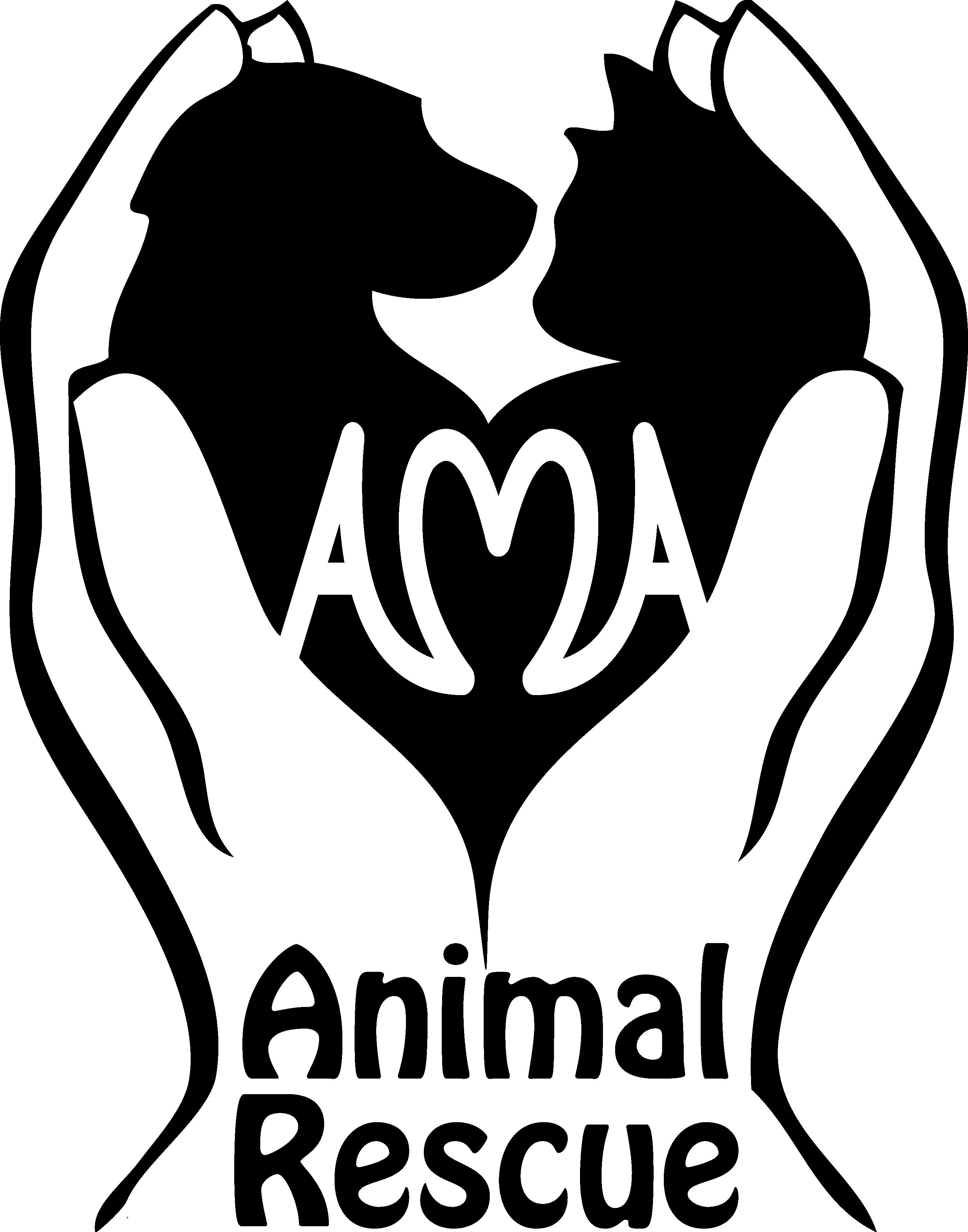 Logo of charity AMA Animal Rescue