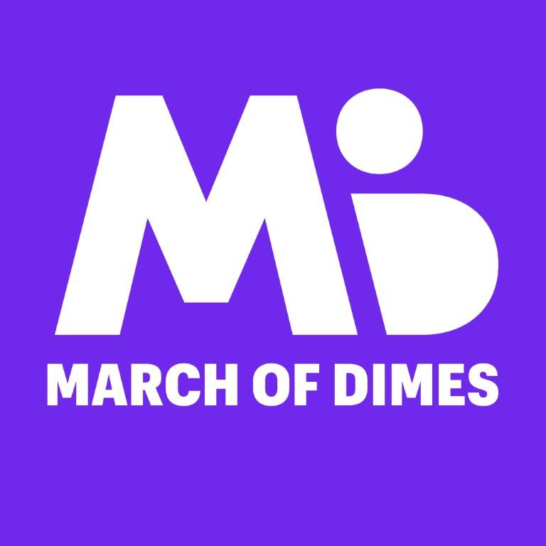 Logo of charity March of Dimes