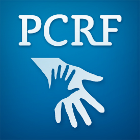 Logo of charity The PCRF