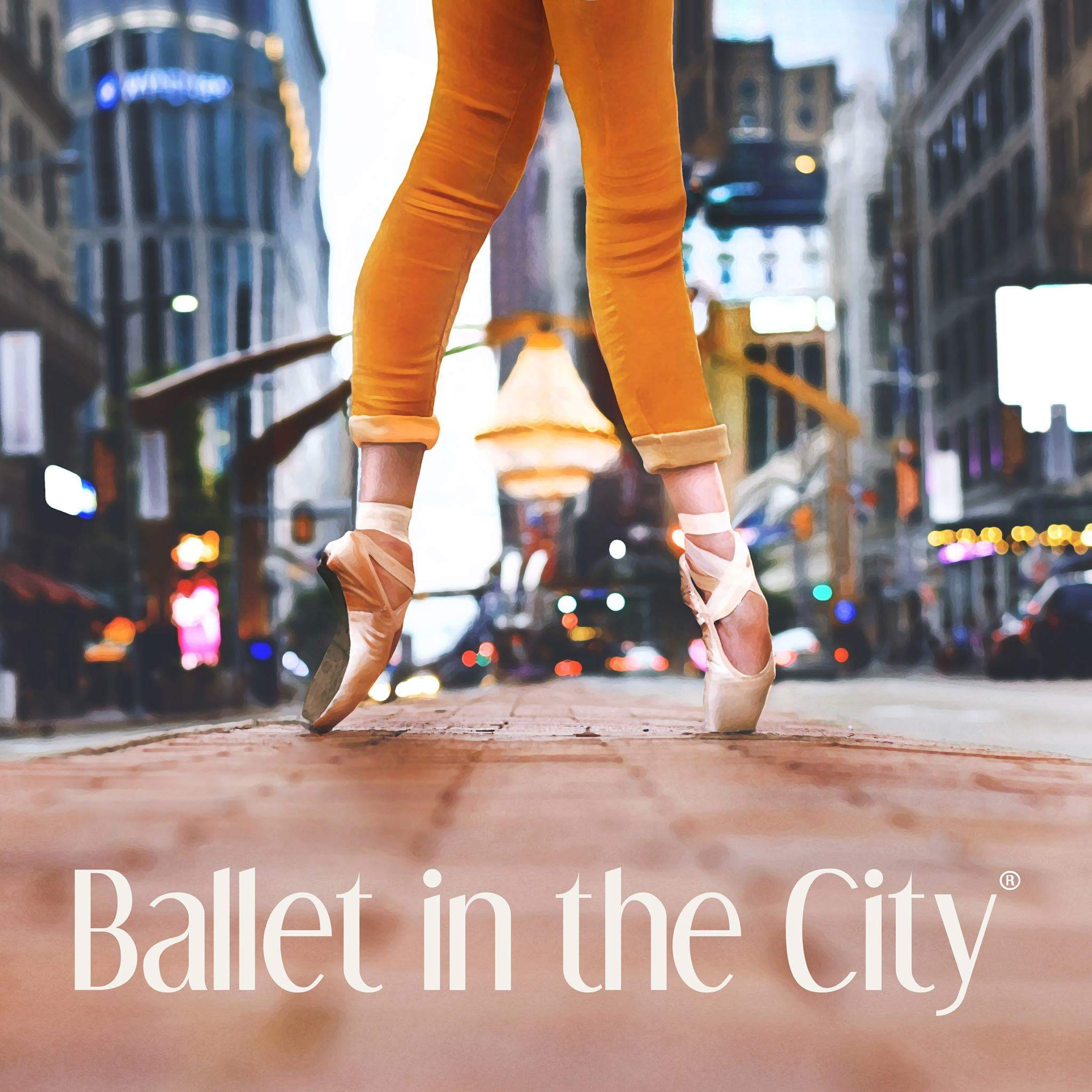 Logo of charity BALLET IN THE CITY