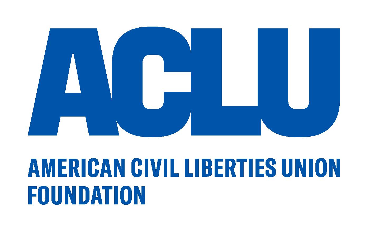 Logo of charity ACLU Foundation