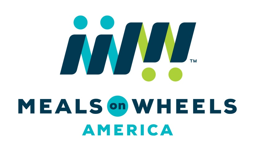 Logo of charity Meals on Wheels America