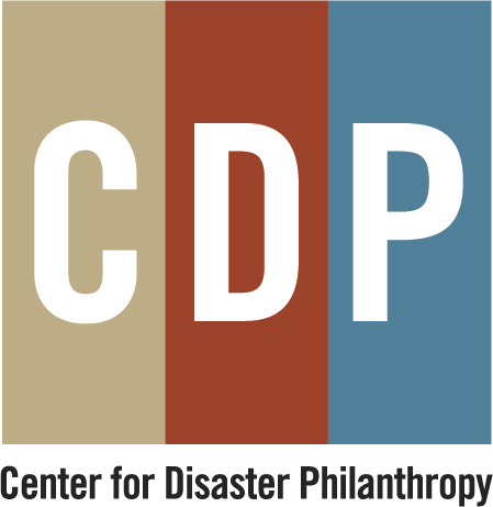 Logo of charity Center for Disaster Philanthropy, Inc.