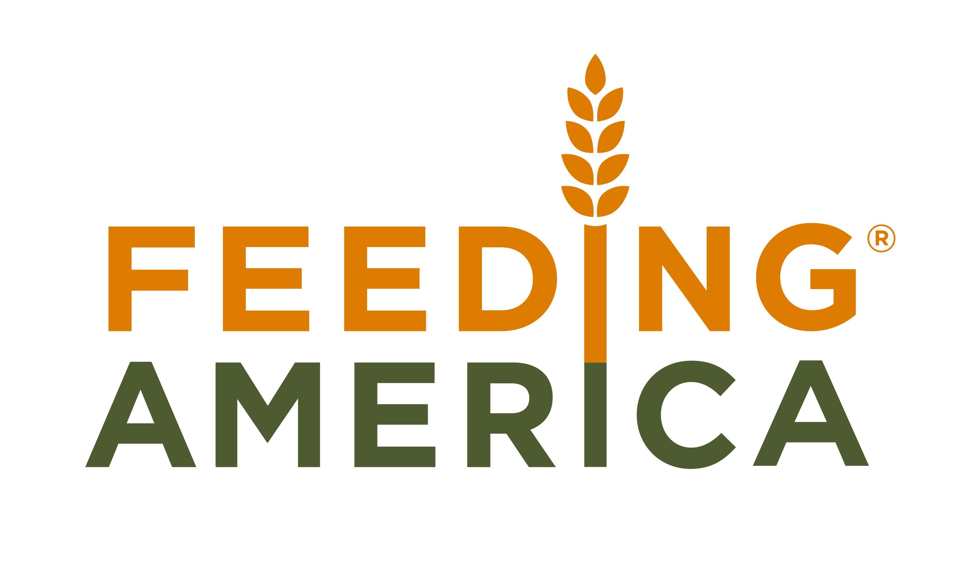 Logo of charity Feeding America